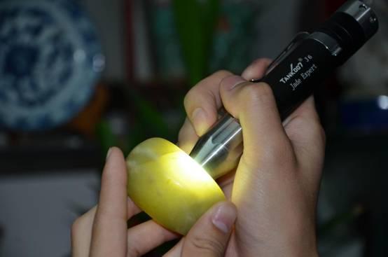 鉴定玉石照玉强光电筒