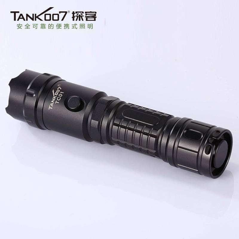 TANK007探客TC01led强光手电筒