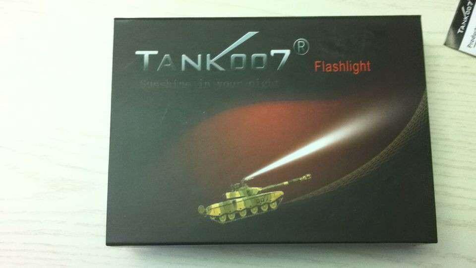 Tank007战术手电PT10评测