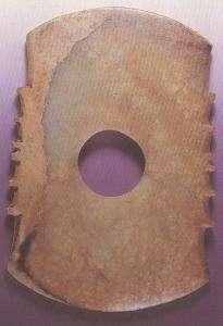 古代商晚期銊用照玉手电鉴定