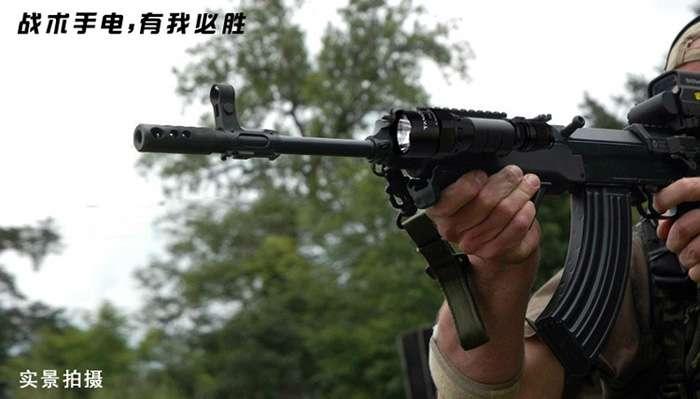 无处不在的中国制造——别怀疑,美军战术手电也是中国制造的!!